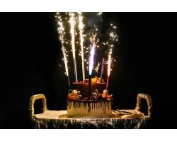 Пять идей использования фонтанов в торт!